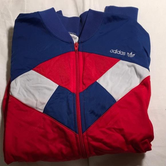 c94b99e39462 adidas Jackets   Blazers - Vintage Red